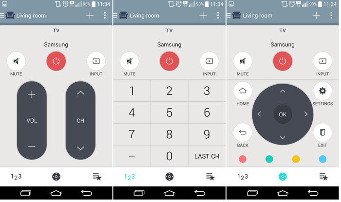 The LG G3 has a tiny infrared blaster for use as a remote control. Unfortunately the remote still lacks a complementing electronic program guide