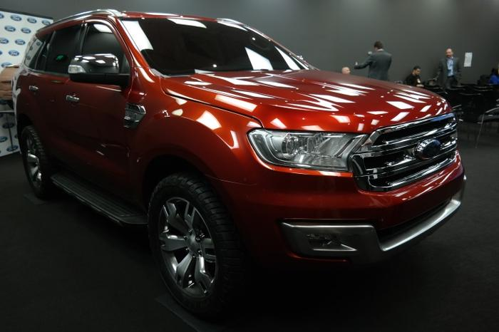 The in-development Ford Everest