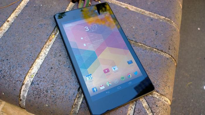 The Nexus 7 feels impressively constructed despite its budget price tag.