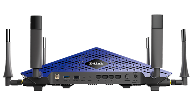 The back of the Taipan hosts a USB 3.0 port and another USB 2.0 port. Plugging a hard drive into these ports makes it possible to share files wirelessly over a home's Wi-Fi network. Working over USB 3.0 -- and not Gigabit Ethernet -- results in slower peak speeds.