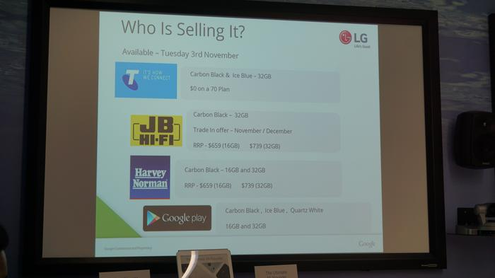 LG Nexus 5X carrier and retailer pricing