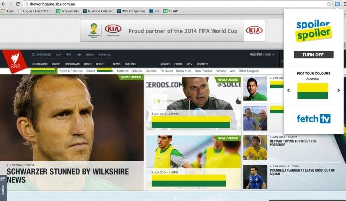 This is the World Game web site with Spoiler Spoiler active.