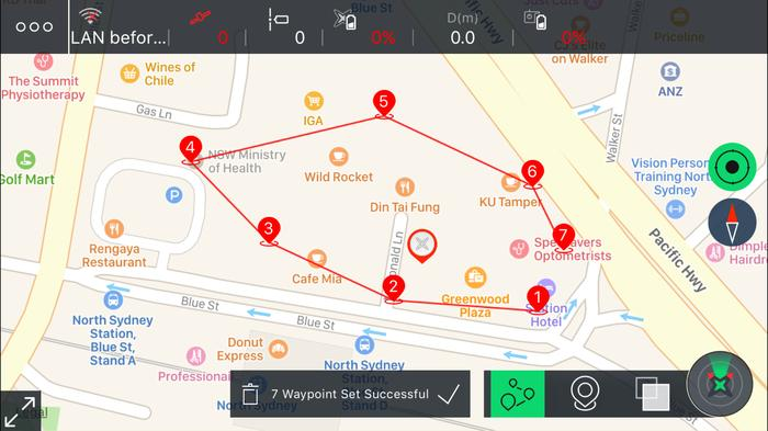 The iOS app is far more polished and accesses more features of the drone.