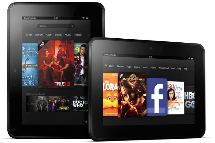 The Amazon Kindle Fire HD tablets: now available in Australia.