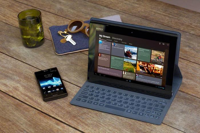 Sony will sell a full range of accessories with the Xperia Tablet S including a cover that has a built-in keyboard.