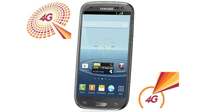 Telstra says the Galaxy S III 4G will go on sale from Tuesday 9 October.