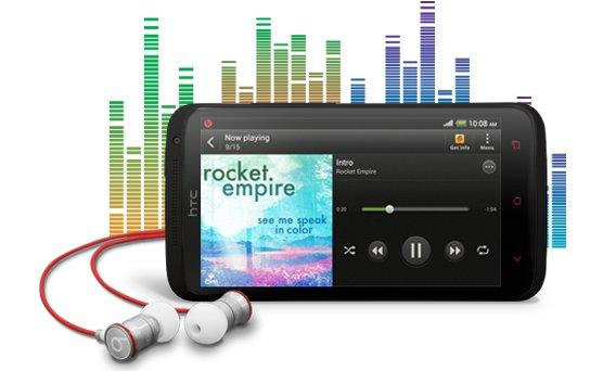 The HTC One X+ will ship with a pair of Beats in-ear headphones.