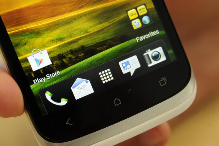 The HTC Desire X's display is vivid, bright and has excellent viewing angles.