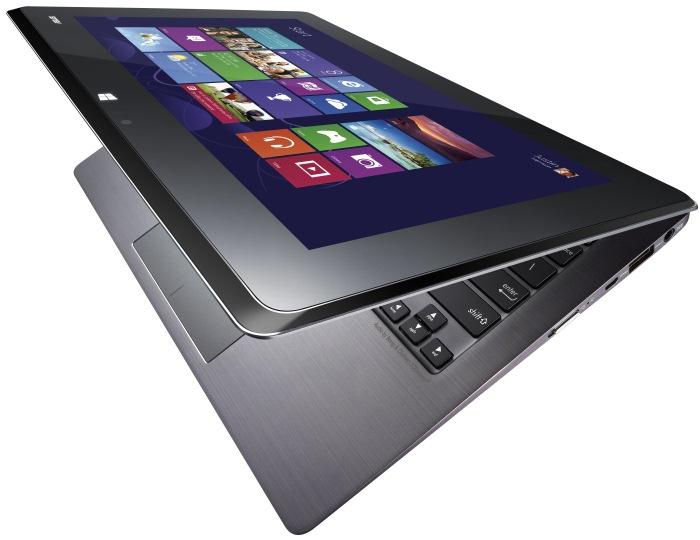 Two screens in the same lid allow the ASUS Taichi to be used as a laptop or as a tablet. The choice is yours.