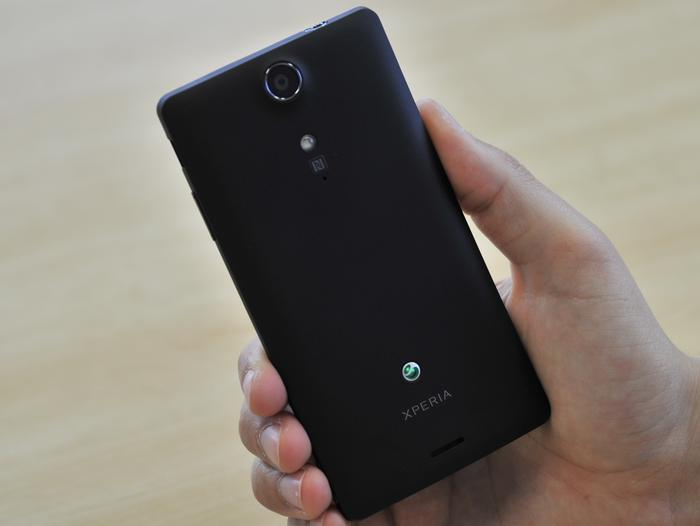 While we like the weight and ergonomics, the Xperia TX's plastic design doesn't feel very premium.