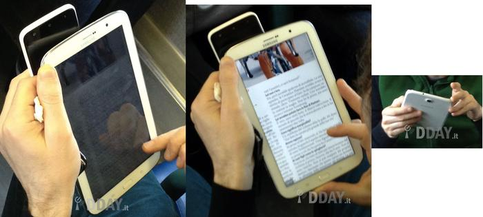 Leaked images of what appears to be the Samsung Galaxy Note 8. (Image credit: DDay.it)