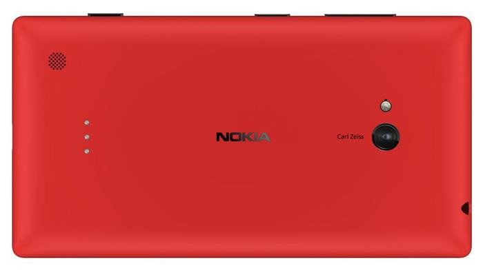 The Lumia 720 has a 6.7-megapixel rear-facing camera with a Carl Zeiss lens and an f/1.9 aperture.