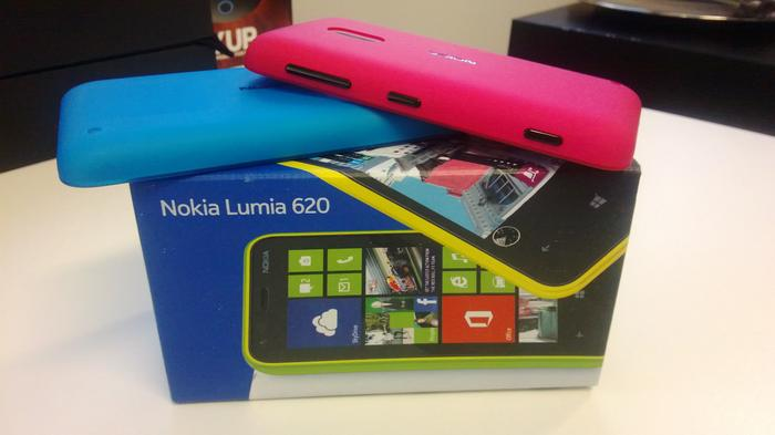 A photo we captured with the Nokia Lumia 620 (click to enlarge).