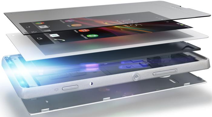 "Sony claims the Xperia SP uses a ""precision-crafted co-moulded aluminium frame""."