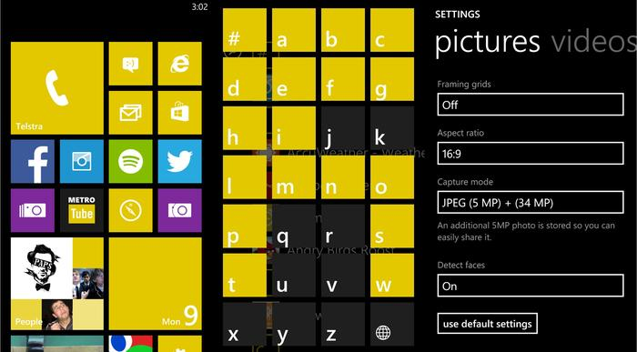 Camera aside, the Lumia 1020 works similar to most other Windows Phones on the market.