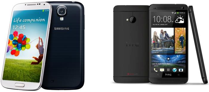 Samsung Galaxy S4 vs. HTC One: What's your choice?