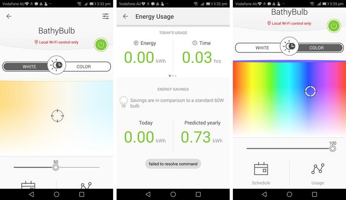 It's easy to track usage and change colour to a minute degree.
