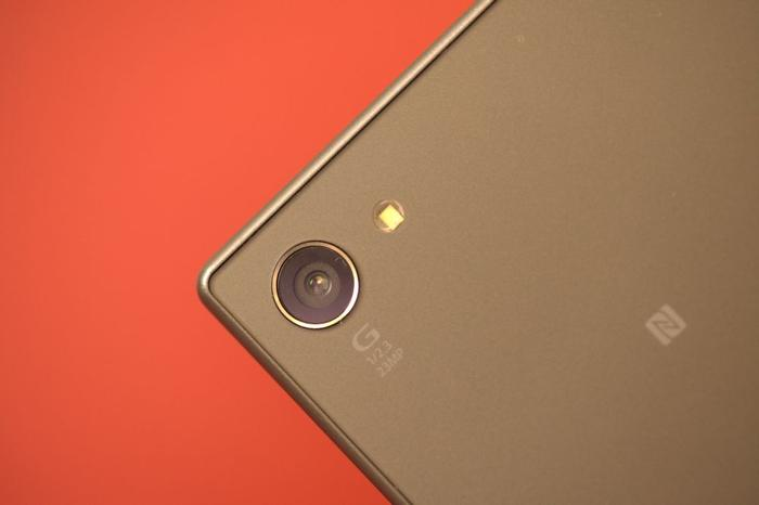 The Xperia Z5 has a 23MP rear camera and a 5MP front camera