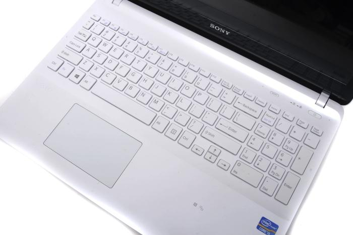 They keyboard's a good one overall, though it's not backlit, which is to be expected in this price range. The touchpad skates around a lot and we think it needs work. If you use this as a desktop replacement, you'll want to plug in a mouse for sure.