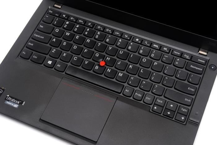 Some keys have been made smaller, and the keyboard has been moved up a bit compared to the ThinkPad X230.