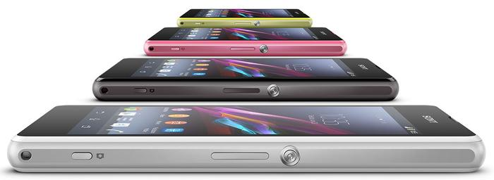 The Xperia Z1 Compact ships with 4.3 Jelly Bean, but Sony has pledged an update to 4.4 KitKat