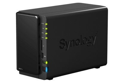 Synology DiskStation DS211+ NAS device