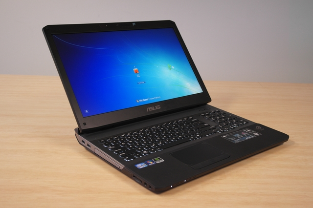 ASUS G75VW Republic of Gamers notebook