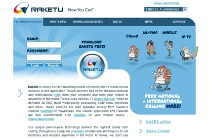 Raketu Universal Messaging Client
