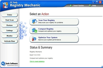 PC Tools Registry Mechanic 7.0