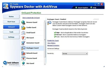 PC Tools Spyware Doctor 5.5 with AV