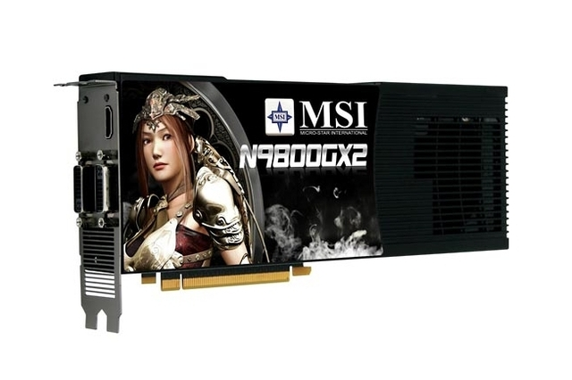 MSI GeForce N9800GTX-T2D512-OC