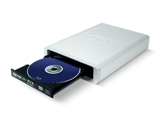 LaCie d2 Blu-ray Drive (Design by Neil Poulton)