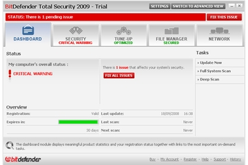 BitDefender Total Security 2009