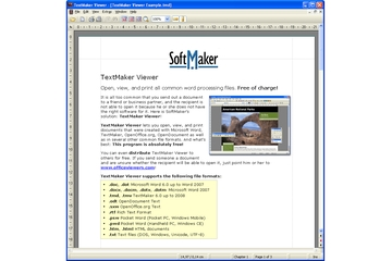 Softmaker Textmaker Viewer 2009