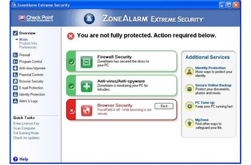 Check Point Software Technologies ZoneAlarm Extreme Security 8.0