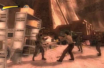 LucasArts Indiana Jones and the Staff of Kings