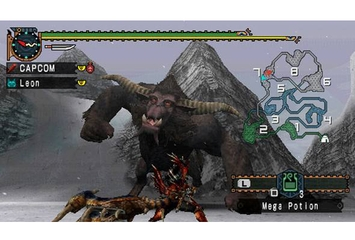 Capcom Monster Hunter Freedom Unite
