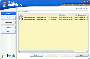 PC Tools Antivirus Free Edition