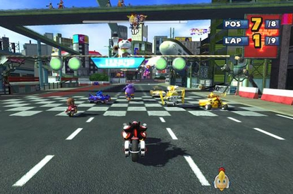 Sega Sonic & Sega All-Stars Racing